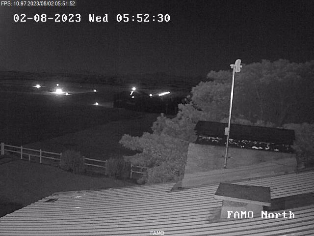 Webcam looking North